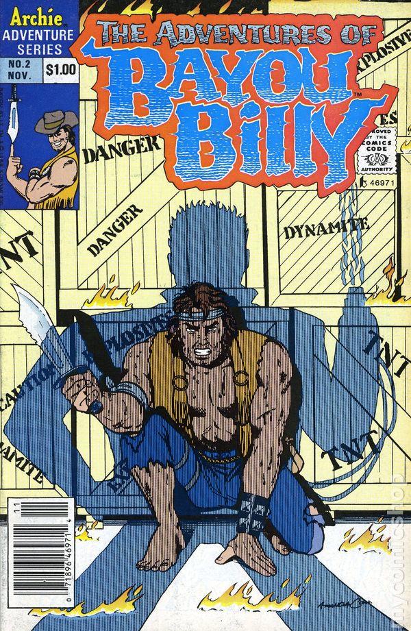 Adventures Of Bayou Billy 1989 Comic Books