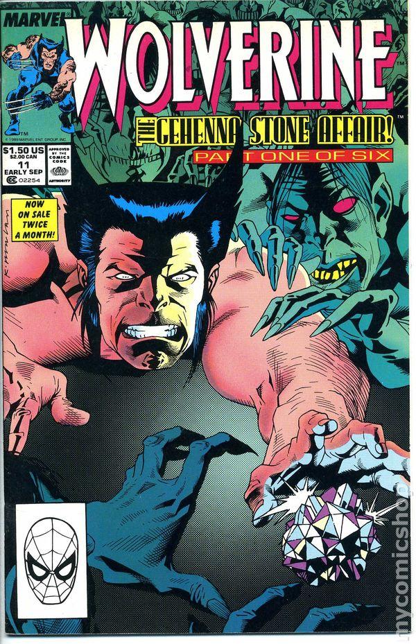 Resultado de imagem para WOLVERINE 1988 # 11