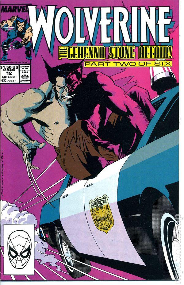 Resultado de imagem para WOLVERINE 1988 # 12