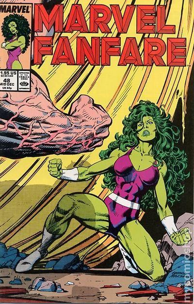 marvel fanfare  1982 1st series  comic books
