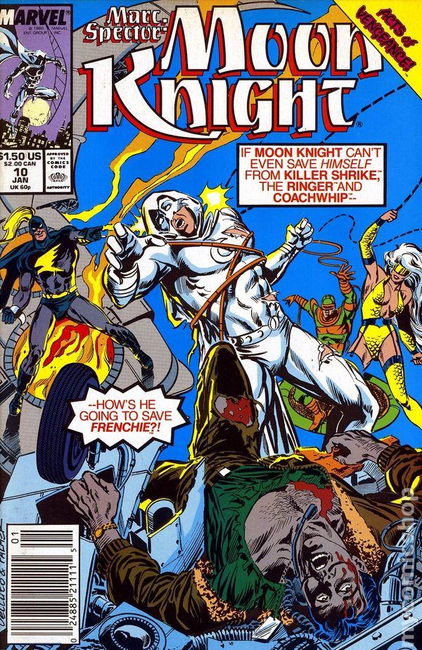 Marc Spector Moon Knight 1989 10