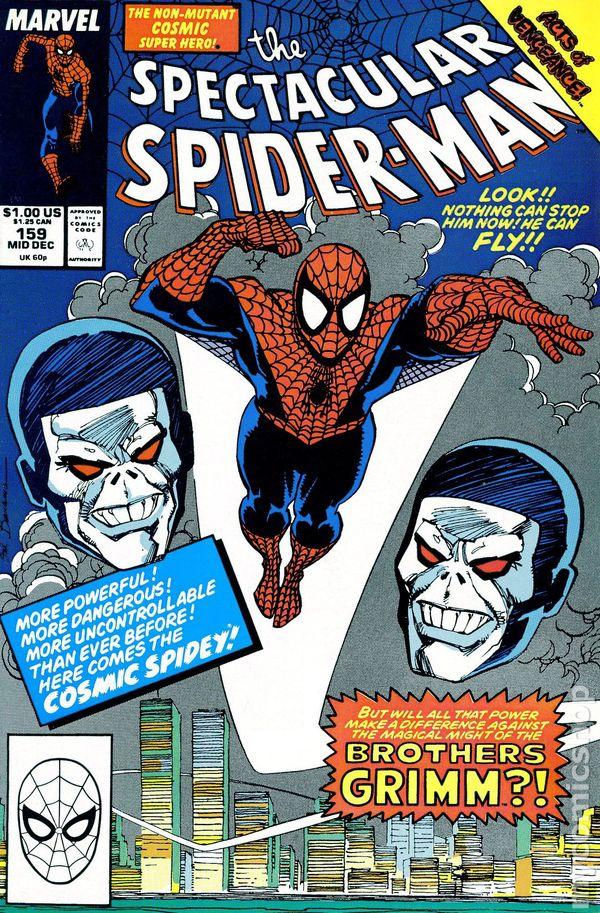 Spectacular Spider-man 1976 series # 153 near mint comic book