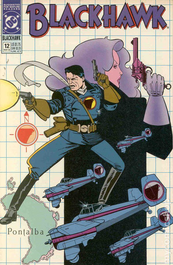 USA,1989 Blackhawk Vol 2 # 3