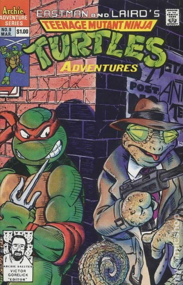 Eastman And Laird/'s Teenage Mutant Ninja Turtles #6 Archie 1989 TMNT Comic FN