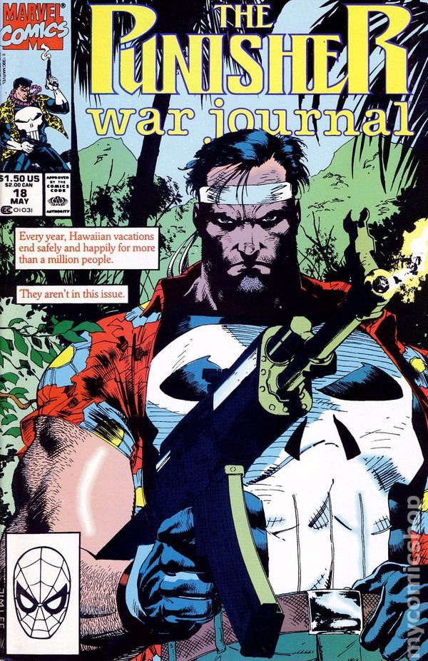 Punisher War Journal (1988 1st Series) comic books