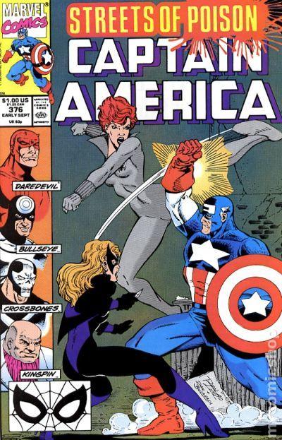 9.2 #381 January 1991 Marvel NM Captain America 1968 Series