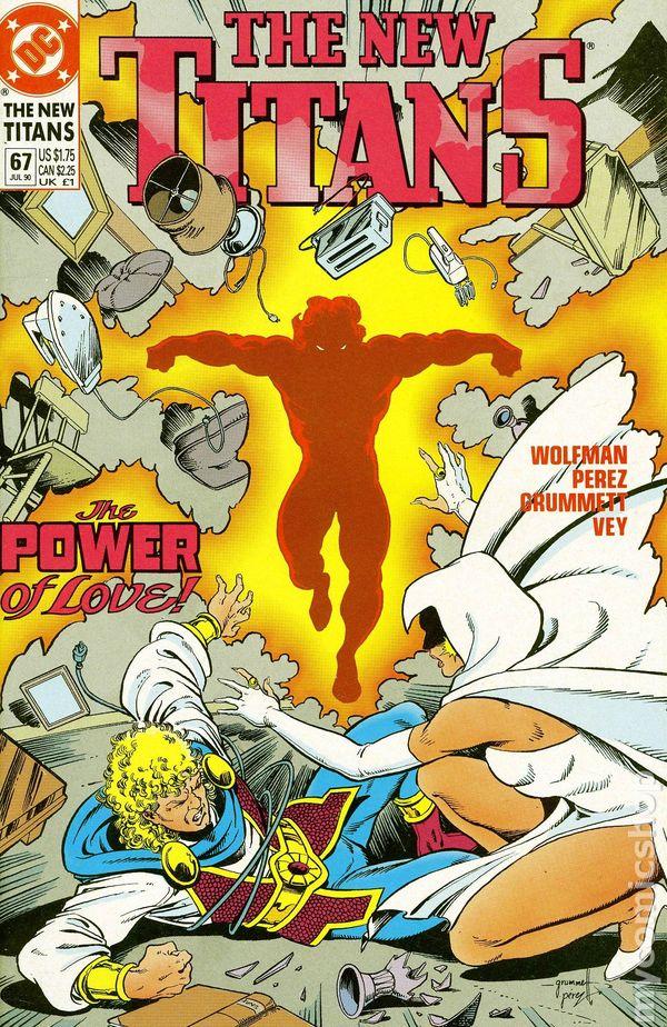 New Teen Titans 1984 2Nd Series New Titans 67 Vg-9721
