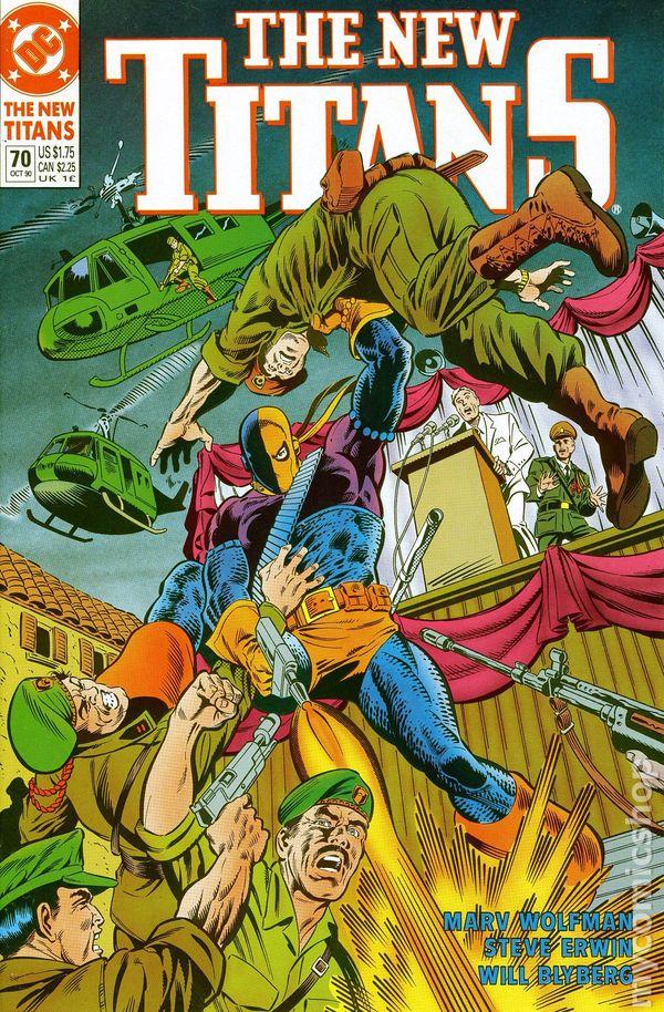 New Teen Titans 1984 2Nd Series New Titans Comic Books-3113