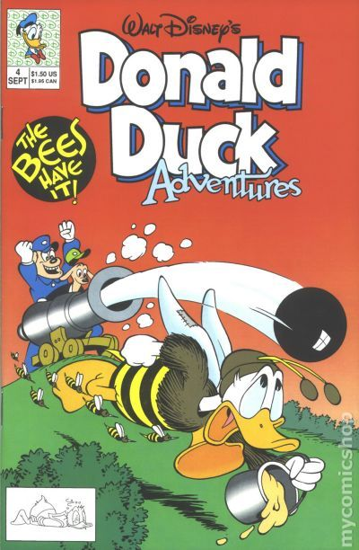 donald duck adventures 1990 disney comic books. Black Bedroom Furniture Sets. Home Design Ideas