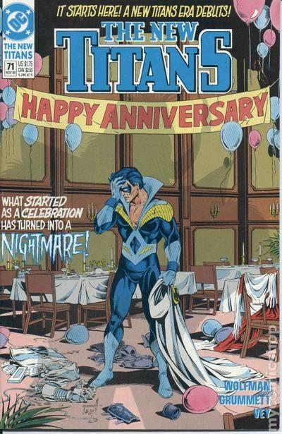 New Teen Titans 1984 2Nd Series New Titans Comic Books-6366