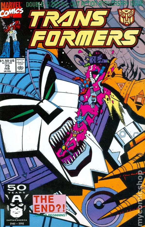transformers 1984 marvel 1st printing comic books