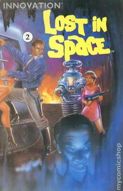 lost in space  1991 innovation  comic books