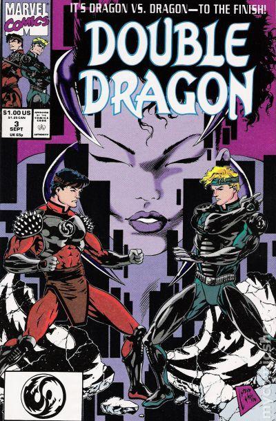 Double Dragon 1991 Comic Books