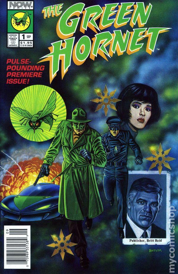 NMINT Lot of 10 Green Hornet TV Series NOW Comics