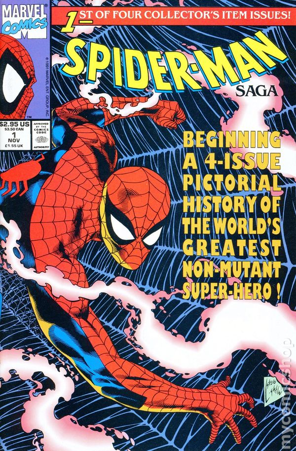 Spider-Man Saga 1991 Comic Books-4199