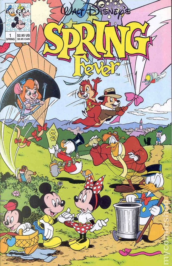 Walt Disney's Spring Fever (1991) comic books