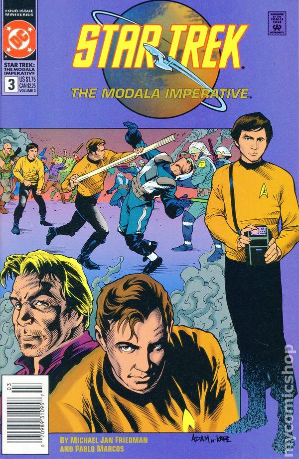 Star Trek The Next Generation Comic Book Modala Imperative #1 DC 1991 NEAR MINT