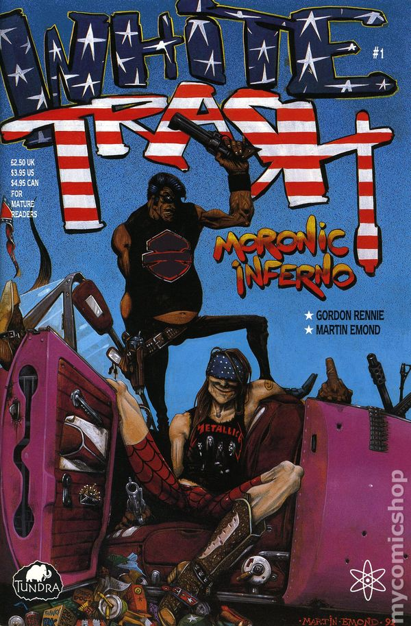 white trash  1992  comic books