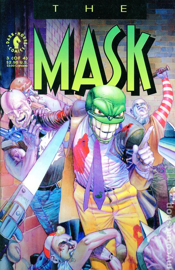 The Mask Returns #2 Dark Horse