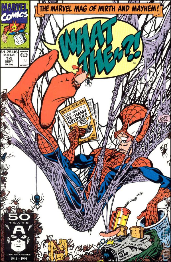 What The Heck Am I Doing The First Month Blogging: What The --?! (1988) Comic Books