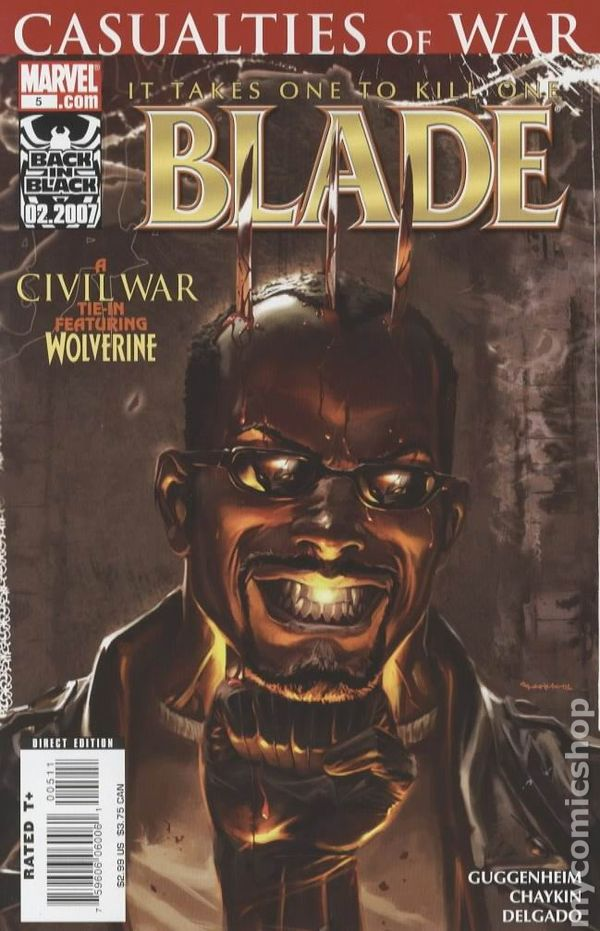 Blade 2006 3rd Series Marvel Comic Books