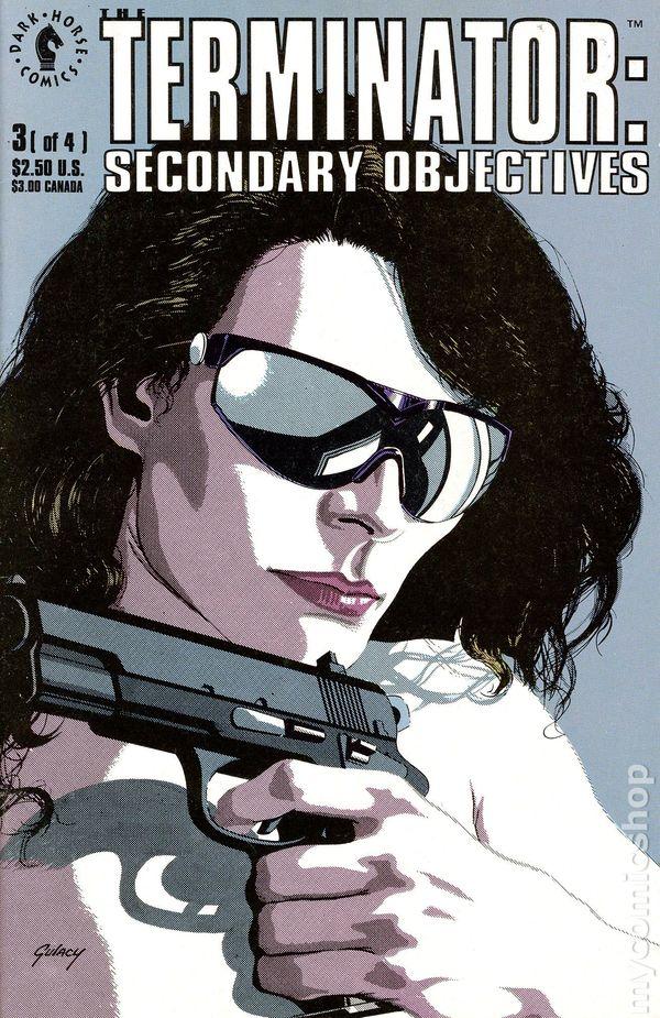 Terminator Secondary Objectives 1991 Comic Books