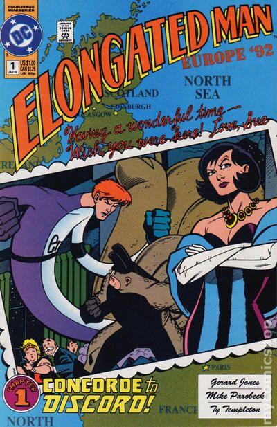 Elongated Man 1992 Comic Books