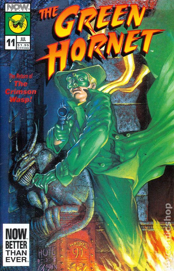 green hornet  1991 now  comic books