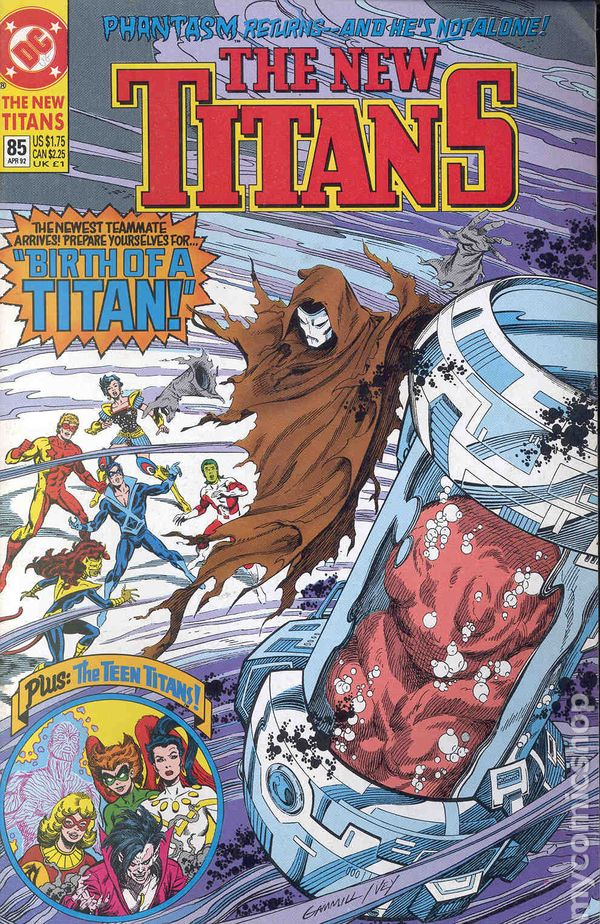 New Teen Titans 1984 2Nd Series New Titans Comic Books-1637