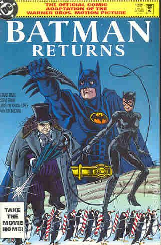 Batman Returns 1992 Movie Comic Books