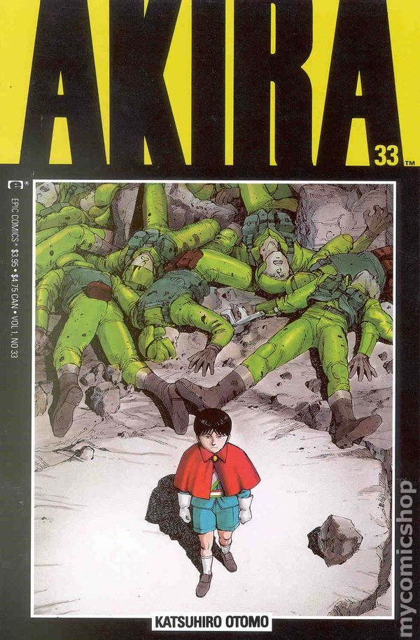 Marvel//Epic Comics CGC 9.8 White Pages 1989 Akira #12