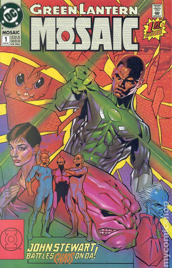 MOSAIC #1 ~ VF//NM Comic Book 2017 MARVEL Comics