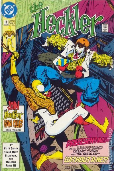 Heckler 1992 series # 6 near mint comic book