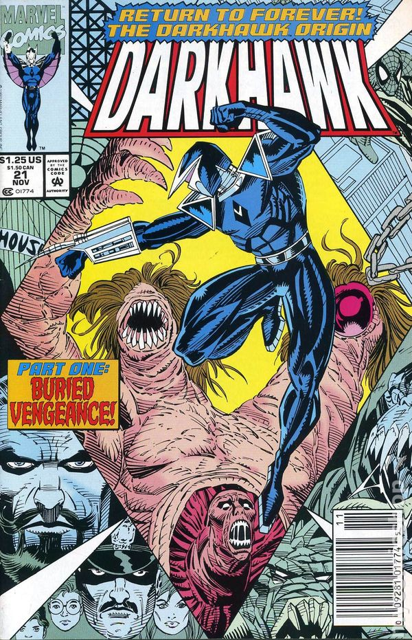 Darkhawk #43 VF 8.0 1994 Stock Image