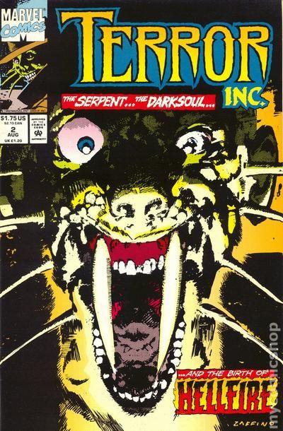 Terror Inc 1992 1st Series 2