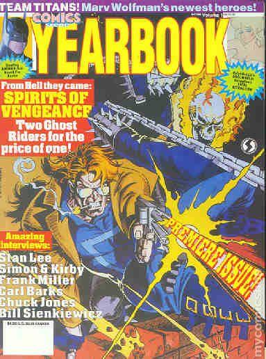 Comics Scene Yearbook 1992 Comic Books