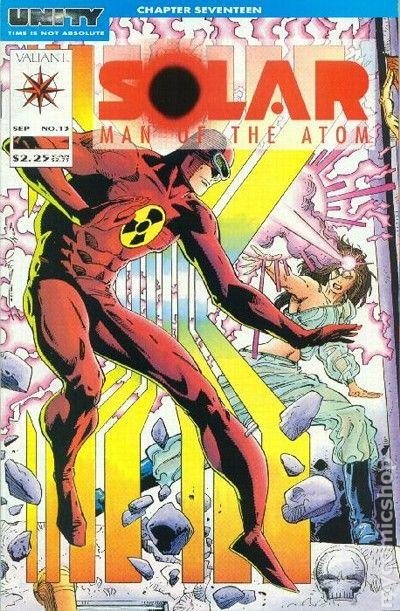 Solar: Man of the Atom (2014) Comic - Read Solar: Man of ...