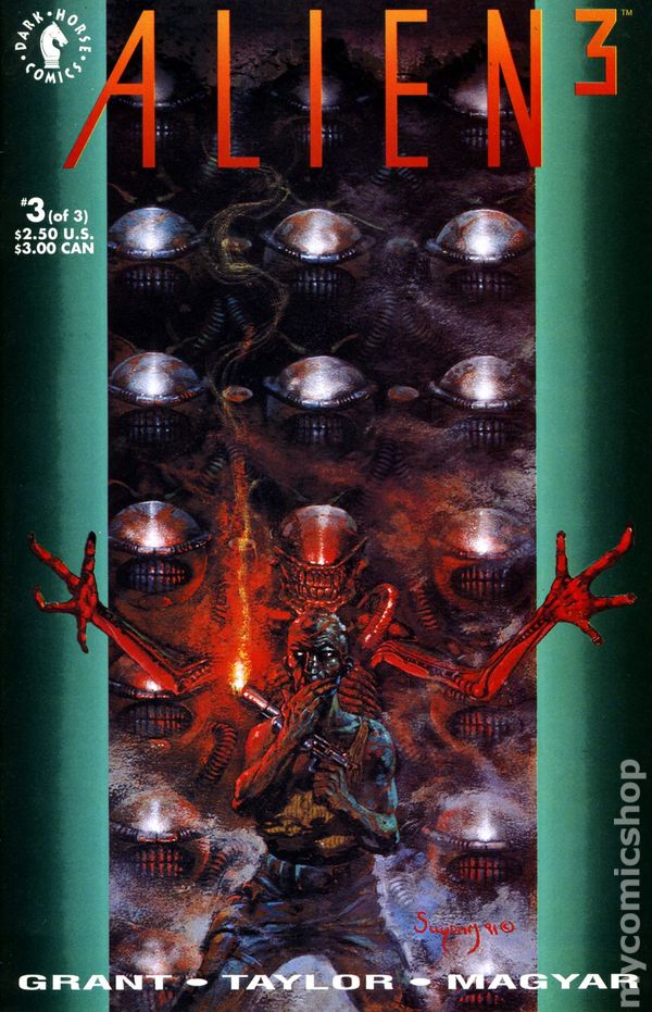 Alien 3 Movie Adaptation 1992 Comic Books