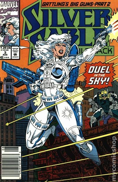 Silver Sable and the Wild Pack (1992) comic books