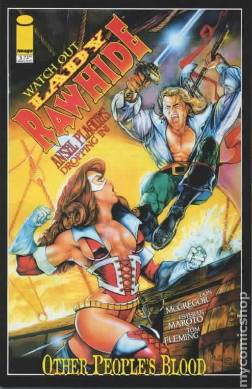 lady rawhide other peoples blood 1999 reprint comic books