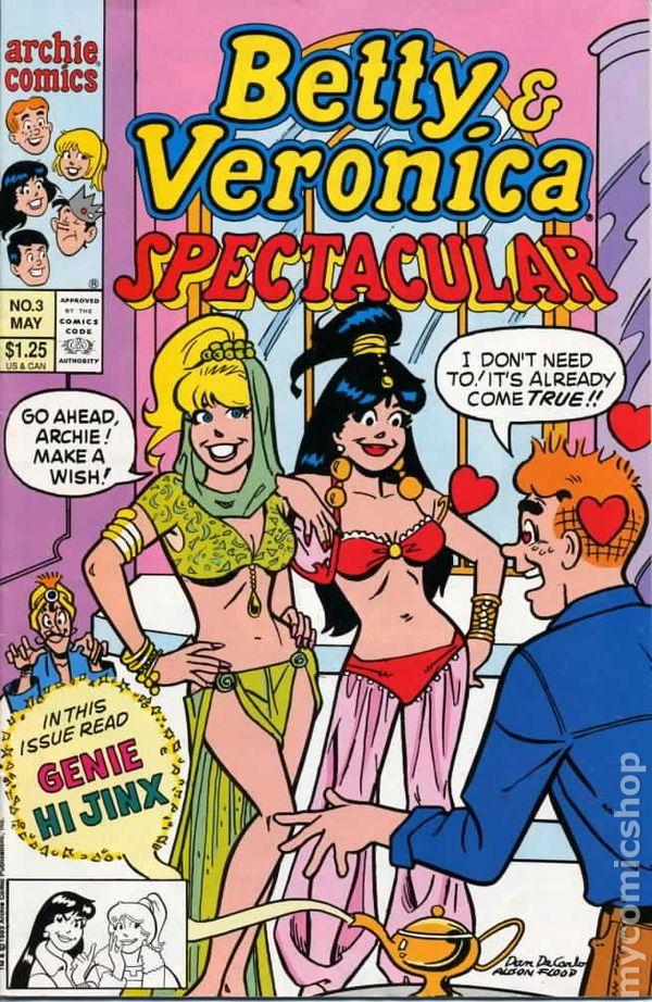 Betty And Veronica Spectacular 1992 Comic Books