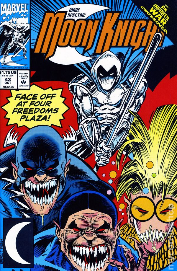 MARC SPECTOR MOON KNIGHT #48 VERY FINE// NEAR MINT 1st SERIES 1989