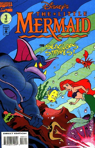 Little Mermaid 1994 2nd Series Comic Books