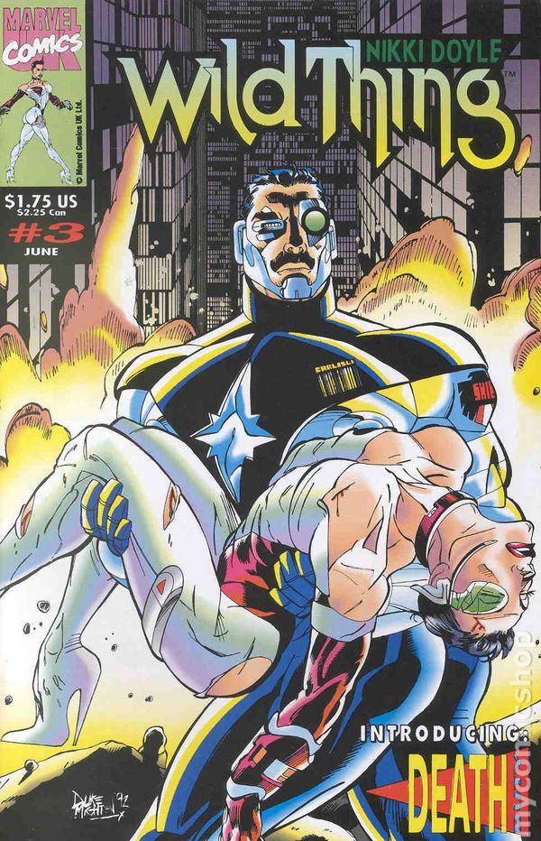 Nikki Doyle Wild Thing #7 October 1993 Marvel Comics