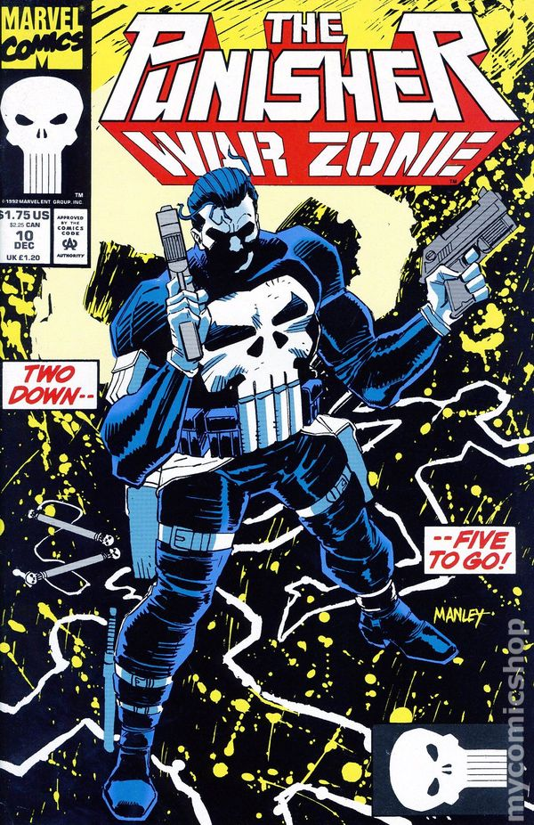 The Punisher Comic Books Issue 10