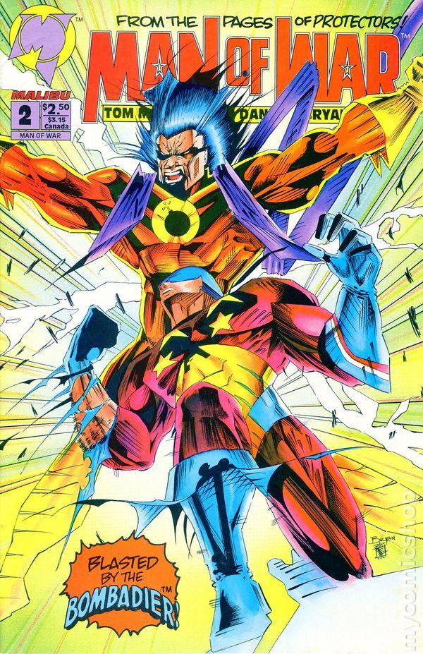 Man of War (1993 Malibu) comic books