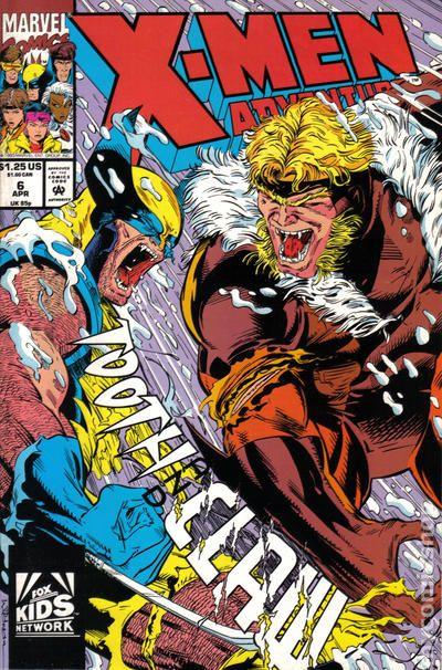 X Men Adventures Season I 1992 Comic Books