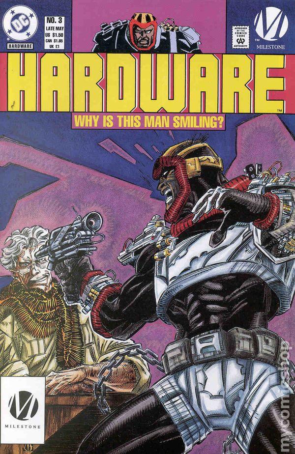 HARDWARE ALVAS/'S REVENGE US DC COMIC VOL.1 # 15///'94