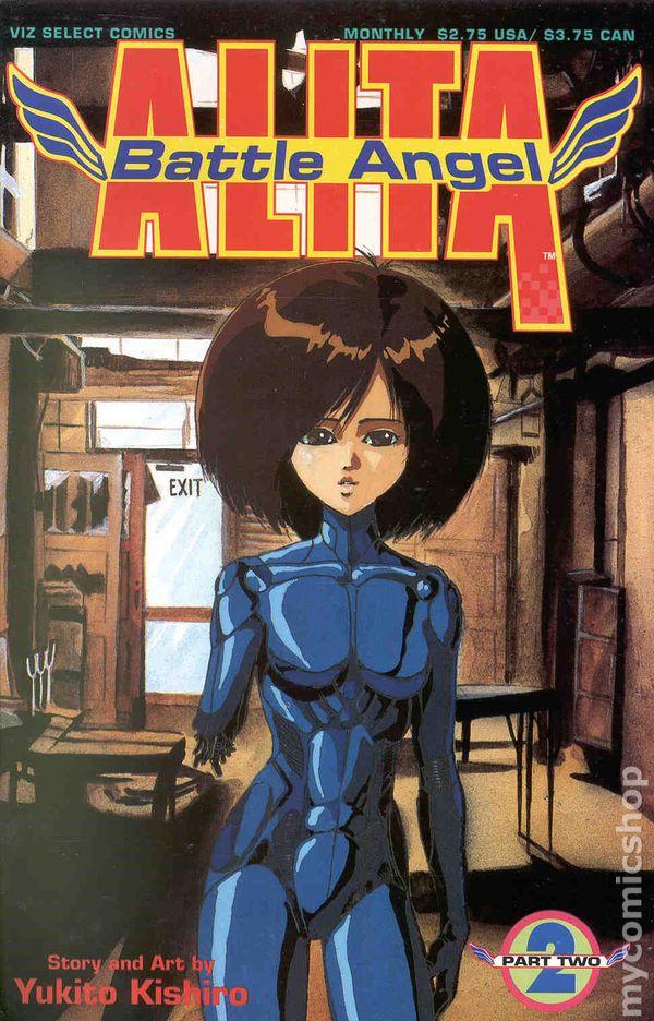 Battle Angel Alita Part 2 1993 Comic Books