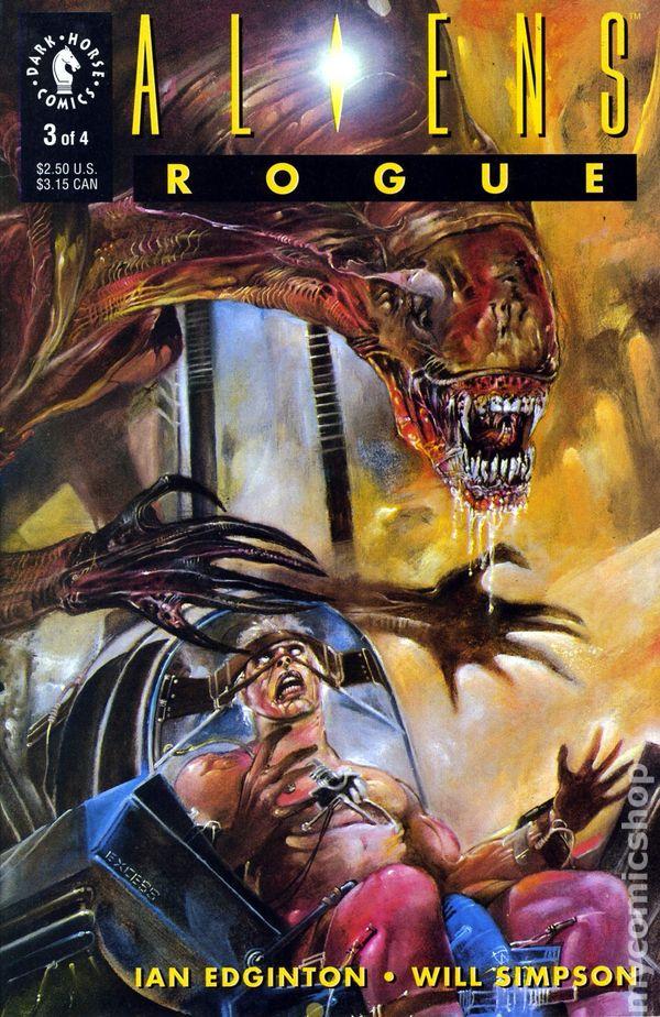 Aliens Rogue 1993 Comic Books